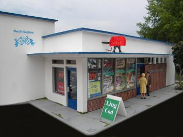 Pacific Seafood's Original Storefront